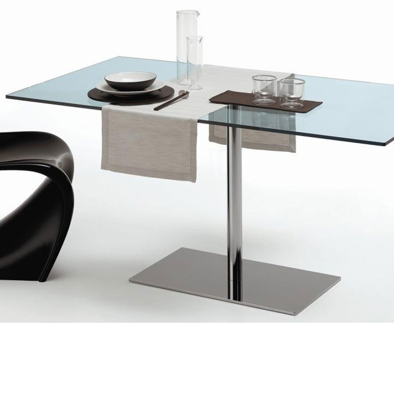 Tonelli Farniente Glass Rectangular Dining Table
