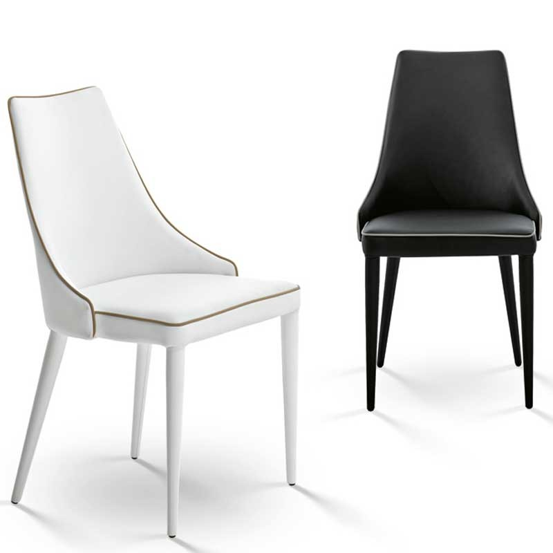 Bontempi Casa Clara Chair Leather Or Ecoleather