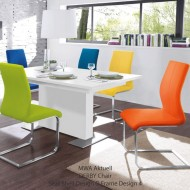 mwa aktuell derby dining chairs ecoleather 15 colours
