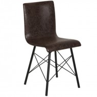 NEW YORK Dining Chair Aged Leather