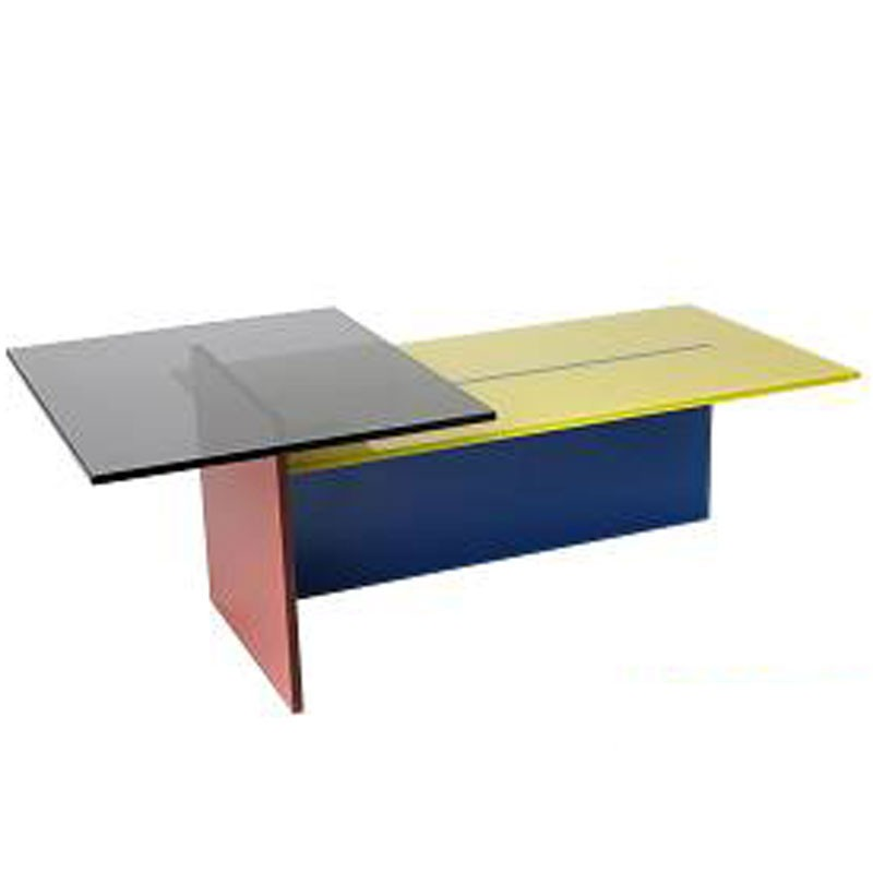 Helderr Steps Coloured Glass Coffee Table