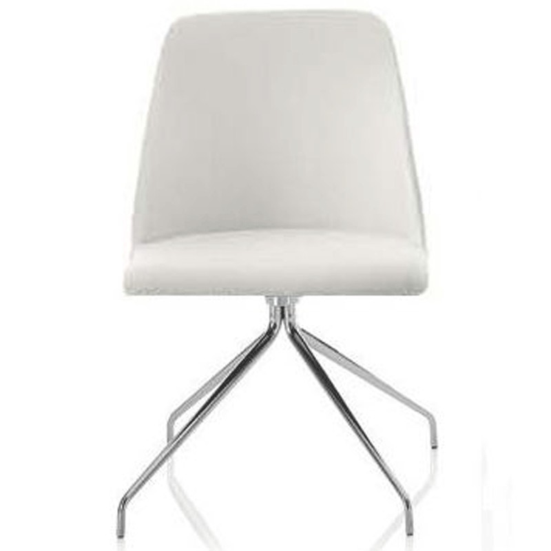 Bontempi Casa MARGOT SWIVEL Chair 4 Legs - Ecoleather or Nabuk Suede