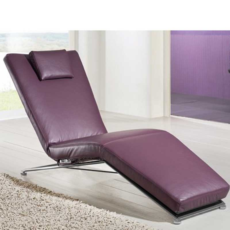 jeremiah adjustable chaise longue by koinor from. Black Bedroom Furniture Sets. Home Design Ideas