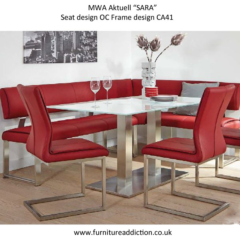 Mwa Aktuell Sara Corner Bench Collection