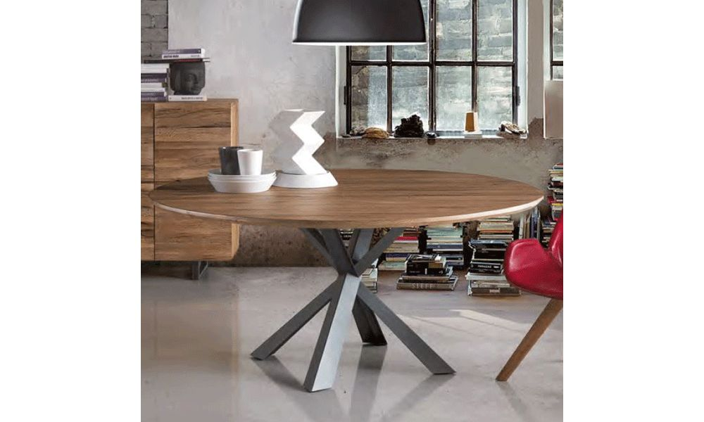 Oliver B - NEVADA SOLID WILD OAK Table many Sizes