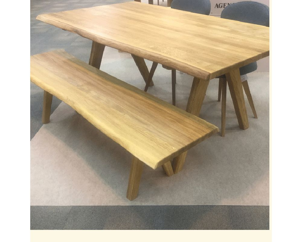 DELTA Solid Oak Dining Group Optional Benches