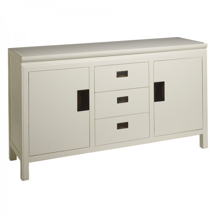 Oriental sideboard distressed lacquer two sizes for Asian furniture uk