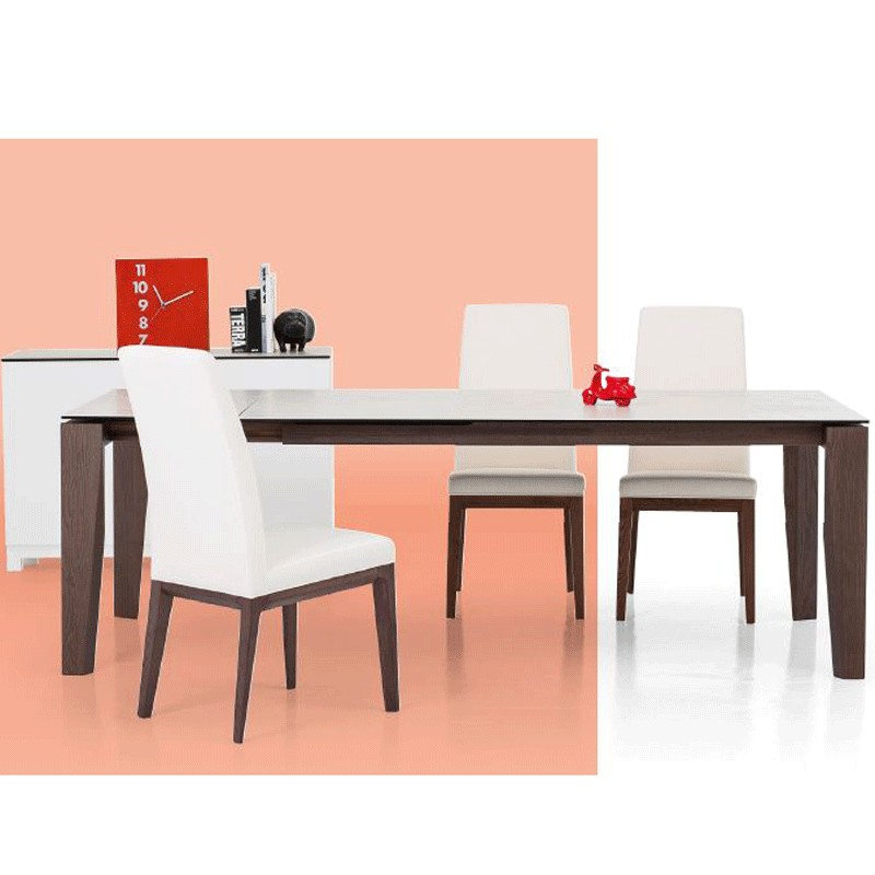 Perissini Casa Clooney Extending Dining Table Ceramic Top