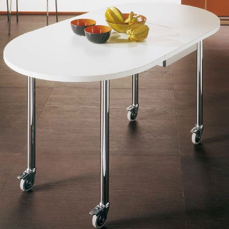 Bontempi Casa FLASH Trolley Table with CASTORS