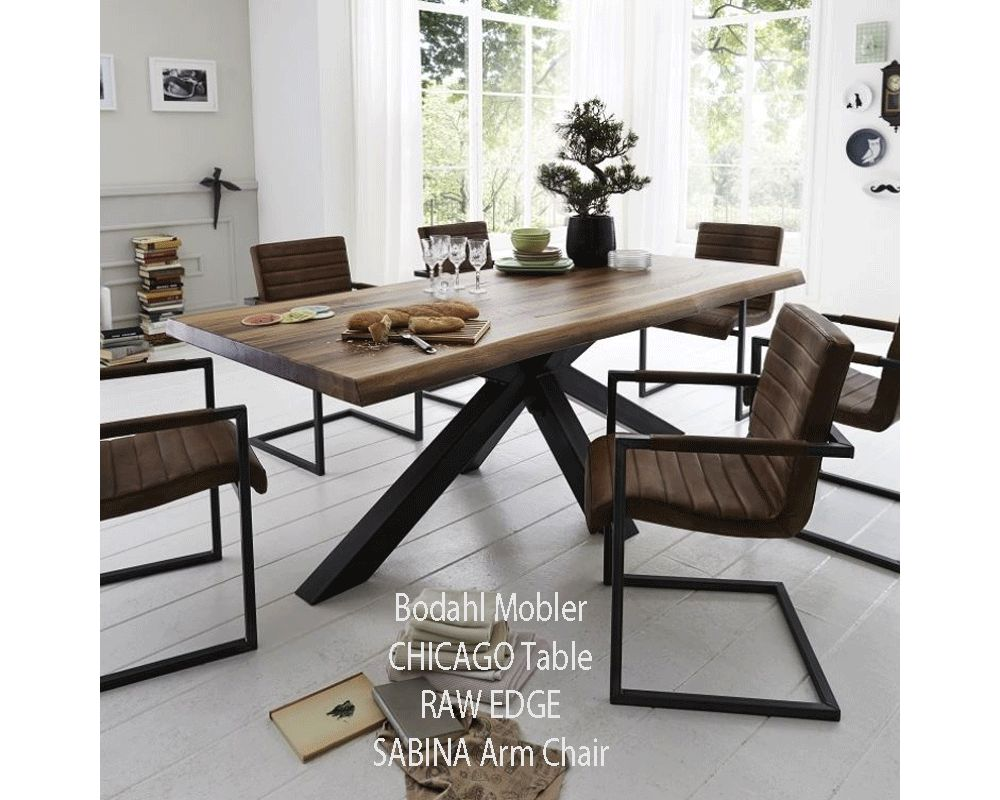 Bodahl Mobler SQUARE Dining Table SOLID Balk Oak