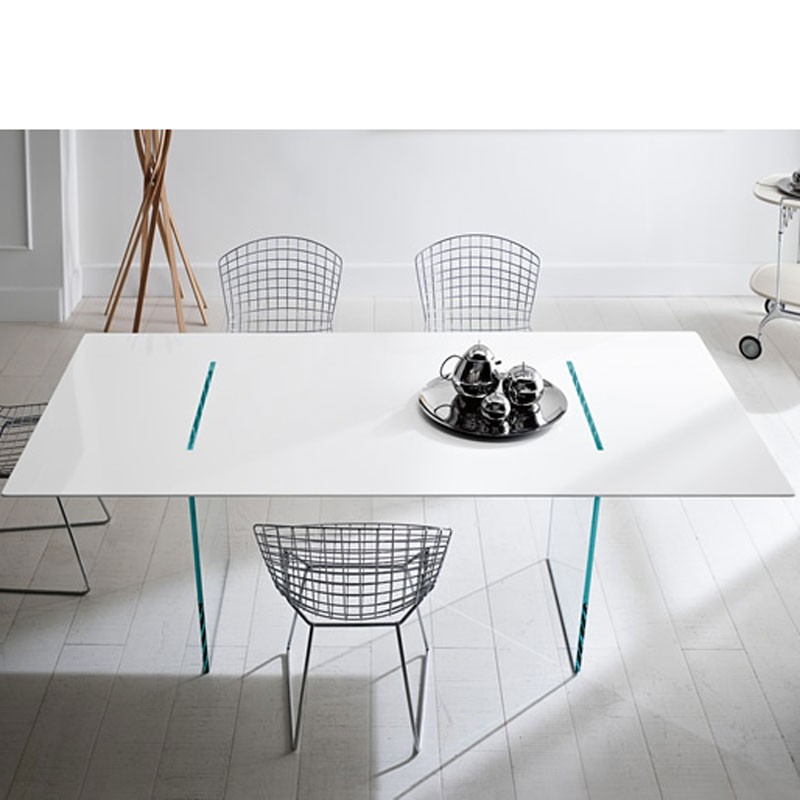 Tonelli Tavolante Glass Dining Table