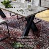 bodahl mobler woodstock solid oak dining table raw edge