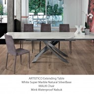 bontempi casa extending artistico dining table super ceramic top
