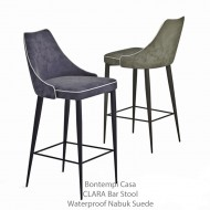 bontempi casa clara bar stool 4 legs ecoleather