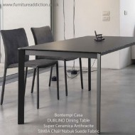 bontempi casa extending dublino dining table super ceramic top