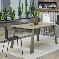 bontempi casa kalua extending dining table
