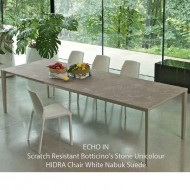 bontempi casa echo in extending table 4 sizes 15 finishes