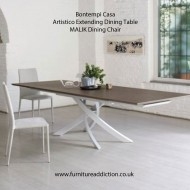 bontempi casa extending artistico dining table