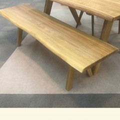 kris solid oak dining group