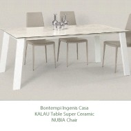 bontempi casa kalua extending dining table super ceramic