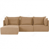 largo modern modular small sofa with chaise
