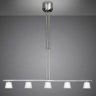 mini ice 5 light kitchen pendant