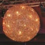 wire big ball 30 lamp pendant