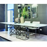 bontempi casa majesty table extending