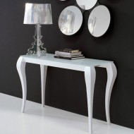 miniforms ghost extending console table