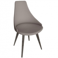peressini casa glamour chair wood legs