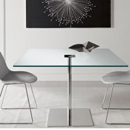 tonelli farniente glass square dining table