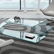 tonelli dekon glass coffee table