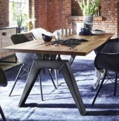 bodahl mobler pavona solid balk oak dining table