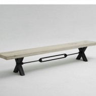 bodahl mobler kansas bench solid balk oak