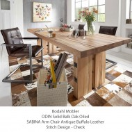 bodahl mobler odin dining table solid oak