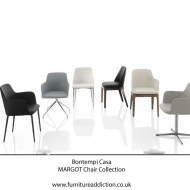 bontempi casa margo chair collection