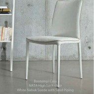 bontempi casa nata dining chair high back