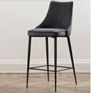 bontempi casa clara bar stool 4 legs nappa leather