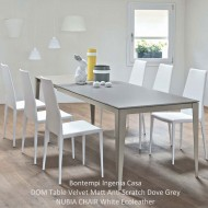 bontempi ingenia casa dom extending dining table