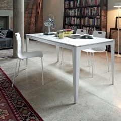 bontempi casa dom extending dining table