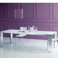 bontempi casa edro extending dining table