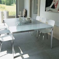 bontempi casa etico extending console dining table