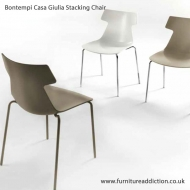 bontempi casa giulia stacking dining chair