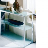 bontempi casa hip hop glass bookcase available in a variety of colours