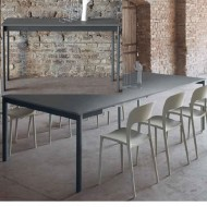 bontempi casa etico plus extending console dining table