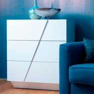 iceberg white drawers white chest