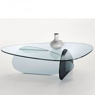 tonelli kat glass coffee table
