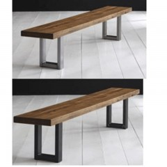 bodahl mobler houston dining bench solid balk oak