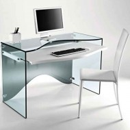 tonelli strata glass desk