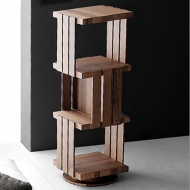 verdesign barrique swivel bookcase